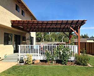 Diy Pergola Plans Attached To House 2017 - 2018 Best
