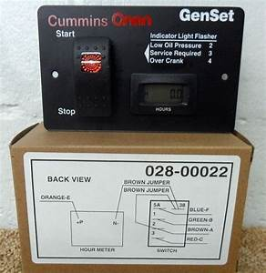 Onan Generator Remote Start 028-00022