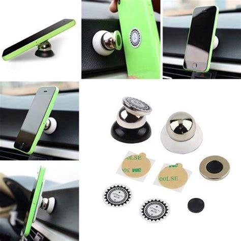 tableau magnetique cuisine support magnétique aimant voiture rotation 360 pour téléphone portable smartphone tablette gps