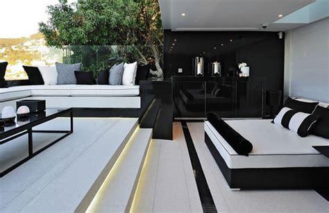 d 233 coration salon moderne noir et blanc deco maison moderne