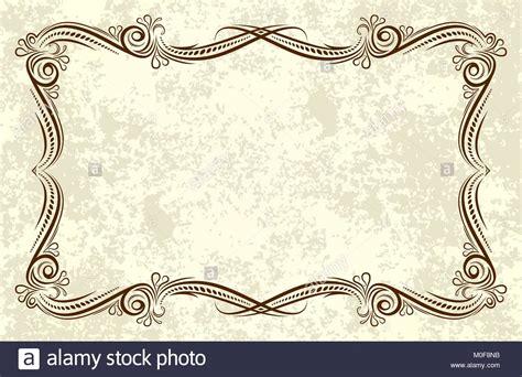 alte rahmen im alter von papier retro vintage grusskarte