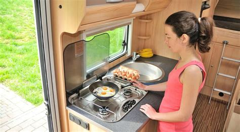 rv storage kitchen camper cooking space saving tips living rvs camping hacks travel propane accessories simple most rving tanks cody