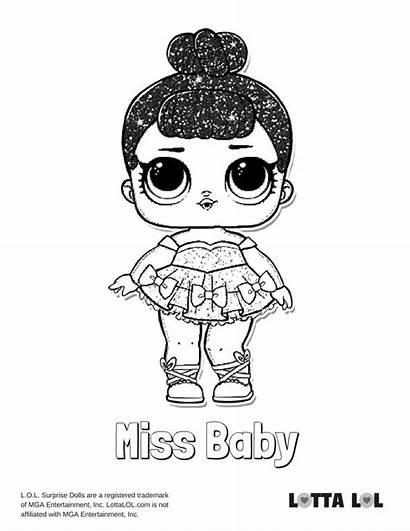 Lol Coloring Glitter Miss Surprise Doll Bebek