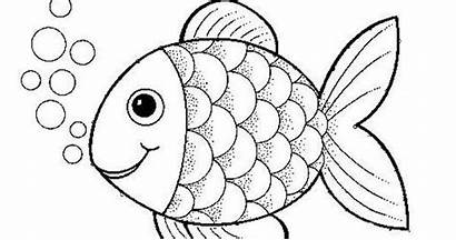 Coloring Pages Outdoor Rock Wall Printable Fish