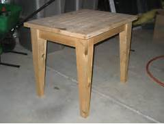 Make Outdoor Wood Table by PDF DIY Simple Outdoor Side Table Plans Download Shelving Plans Free Woodideas
