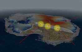 Bizarre Cosmic Rays Are Shooting Out Of Antarctica And Physicists Can't Explain It…