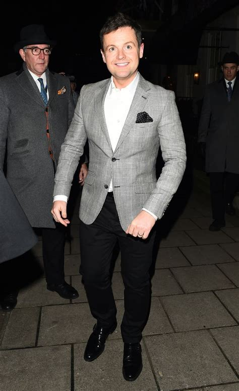 Declan Donnelly and towering wife Ali Astall hit the town ...