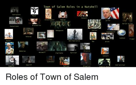 Town Of Salem Memes - roles of town of salem funny meme on sizzle