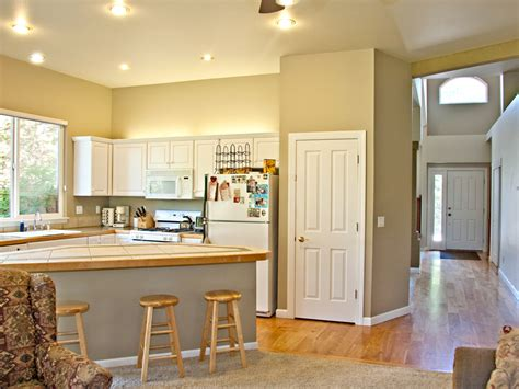 two wall kitchen design before and after l shaped kitchen remodels hgtv 6439