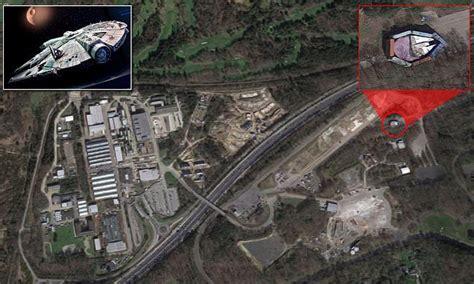 Millennium Falcon Spotted On Google Earth Near Golf Course