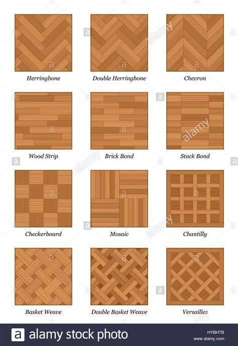 Parquet pattern chart   most popular parquetry wood