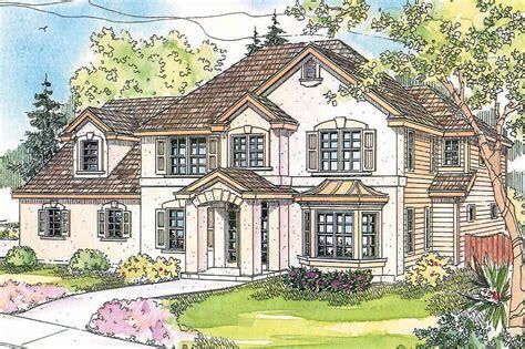 European House Plans  Gerabaldi 30543  Associated Designs