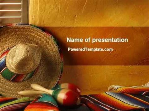 mexico powerpoint template  poweredtemplatecom