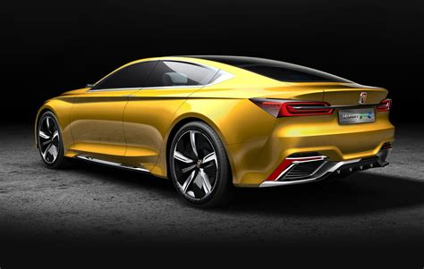 roewe vision  electric concept hints  chinese brands