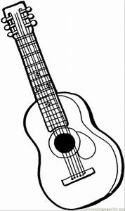 Musical Instruments Coloring Pages - Bestofcoloring.com