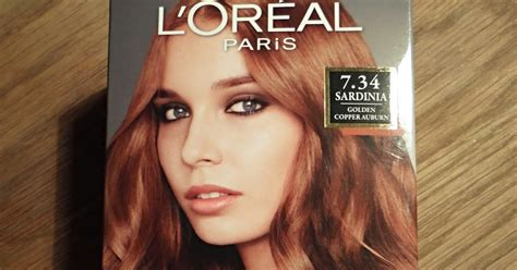 L'oreal Preference Sardinia 7.34 Golden