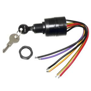mercury ignition key switch  wire replaces