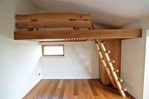 Hochbett Bauen Lassen : bett nachtisch und hochbett aus massivholz vom tischler ~ Michelbontemps.com Haus und Dekorationen