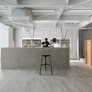 Sides Core Redesigns Minimal Hair Salon To Include Library