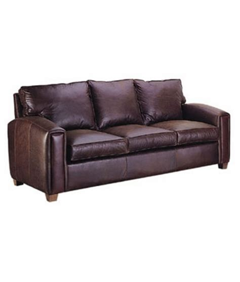 leather pillow  sofa  curved panel arms