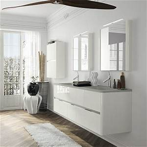 meuble salle de bains fonctionnel ambiance bain dolce With meuble de salle de bain aubade