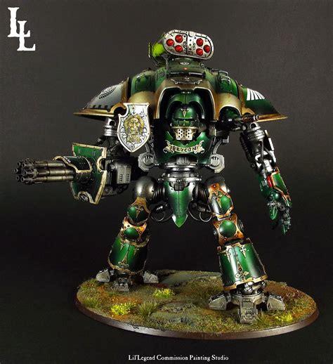 imperial knight warden glycon   lion  lys