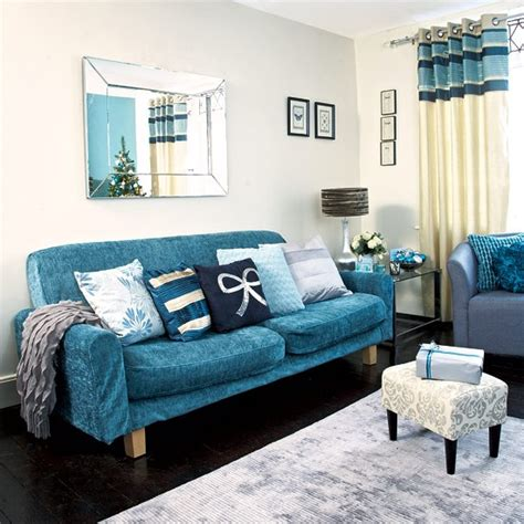 teal living room ideas uk recover your sofa festive teal and silver living room