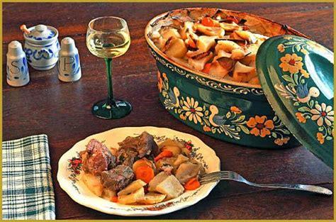 cuisine alsacienne baeckeoffe photos de baeckeoffe photos de la potée boulagère