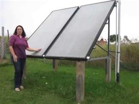 Solar Heating Drapes - solar water heating panels