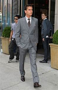 Scott Disick and his grey suit. | Rolo Fashion | Pinterest