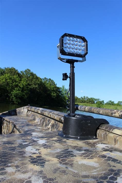 Telescoping Boat Pole by Telescoping Duck Boat System Stingray Industries Led Llc