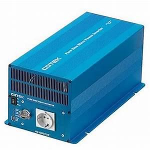 Cotek Sk1000 1000w Inverter Manual