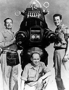 Robby The Robot with his builders. The most famous robot ...