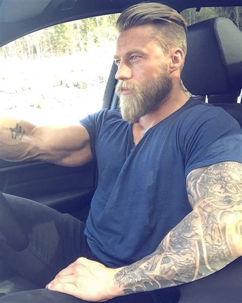 Based on the lives they lived, the viking beard style was adopted by modern society and has become a symbol of masculinity all over the world for a majority of men. Stian Bjornes ™ (@stiking1) | Instagram photos and videos ...