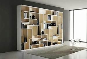 Ikea Bibliothèque Blanche : biblioth que design id es de d co salon avec biblioth que ~ Teatrodelosmanantiales.com Idées de Décoration