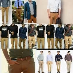 What Color Shirt with Brown Pants