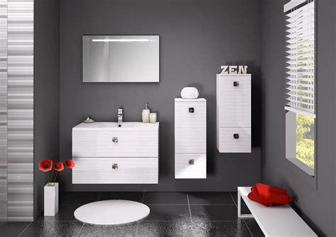 carrelage mural cuisine design salle de bain blanc et gris