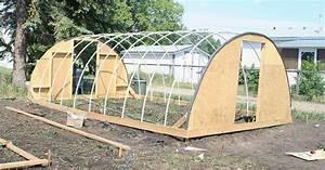 Faire Sa Serre En Polycarbonate : les jardins de christelle une serre tunnel faite maison ~ Premium-room.com Idées de Décoration