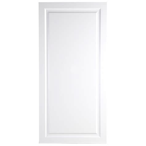 hton bay 24 38x80x1 13 in decorative pantry end panel in white bt2480o wh the home depot
