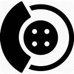 Icon Brake Brakes Disk Vectorified