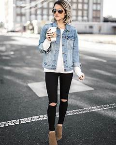 Jo u0026 Kemp Womens Fashion | Street Style | Ootd | Fashion | Style | Denim Jacket | Steve Madden ...