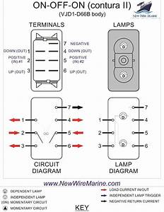 Wiring Diagram For On Off On Rocker Switch
