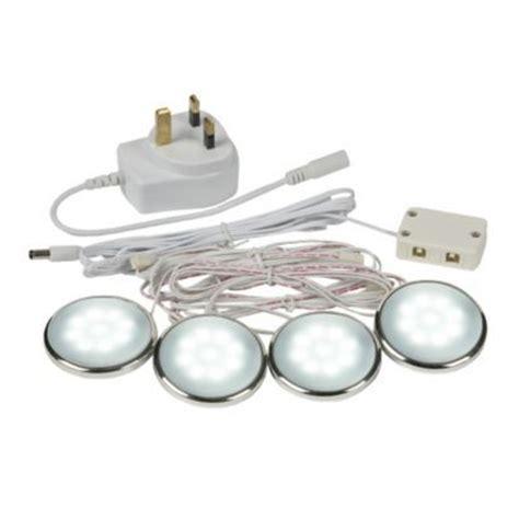 led cabinet kitchen lights b q select apella cabinet white led lighting kit 8973