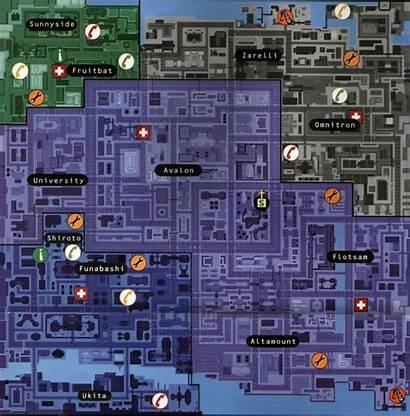 Gta Downtown Theft Grand Pc Map Gta2