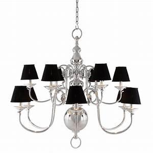la chapelle chandelier With la chapelle camera floor lamp in white silver