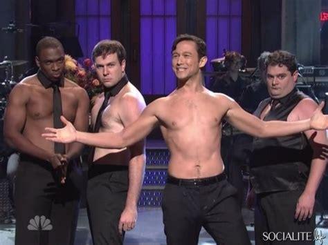 foto de Joseph Gordon Levitt Shirtless On Saturday Night Live