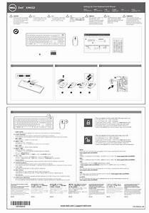 Dell Wireless Keyboard  U0026 Mouse Bundle Km632 User U0026 39 S Manual