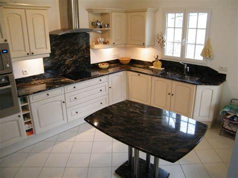 cuisine en marbre charmant plan de travail cuisine en marbre avec plan de
