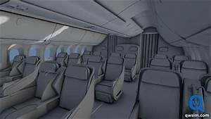 QualityWings 787 first class cabin