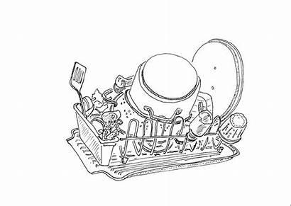 Drawing Dish Fatherhood Survival Tool Pad Rack
